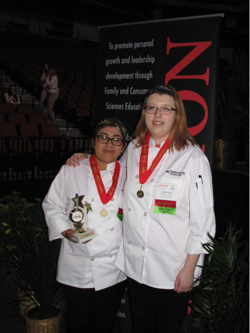 2018 FCCLA State Culinary Arts STAR Event Gold Winners