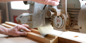 Image of carpenter at work
