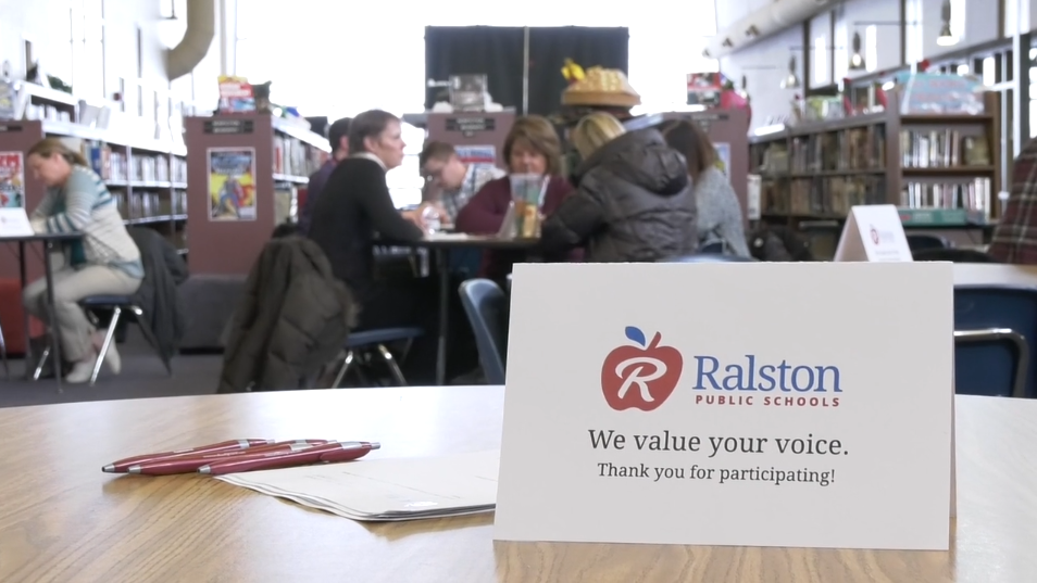 This is an photo from Ralston Public Schools' community engagement process.