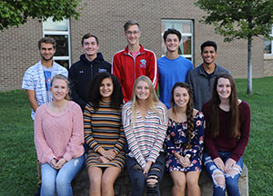 This is an image of the 2019 Ralston High School Homecoming Court.