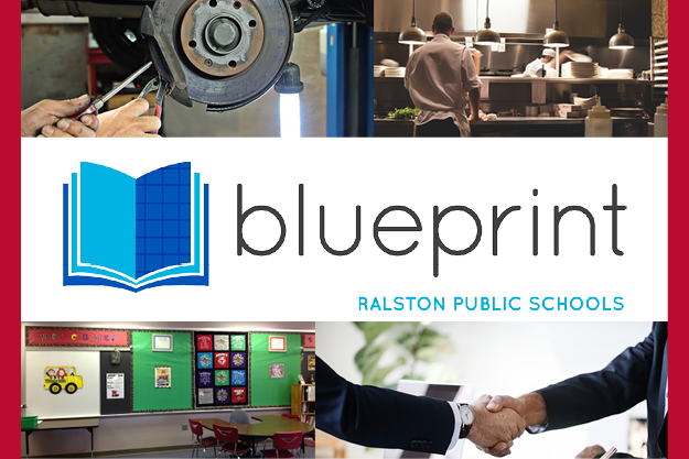 This is a logo of Ralston's blueprint program