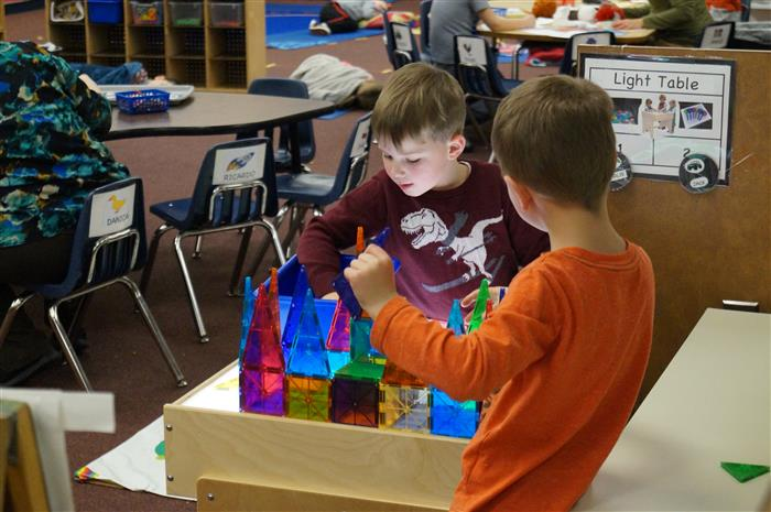 PreK Light Table