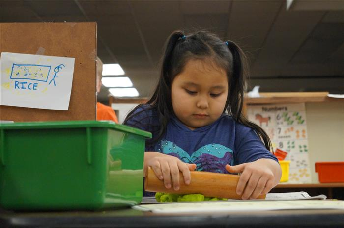 Independent play in PreK